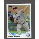 2013 Topps 384 Jake McGee
