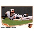 2013 Topps 592 Nick Markakis