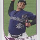 2013 Topps 613 Jhoulys Chacin
