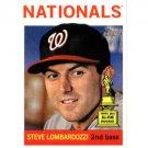 2013 Topps Heritage 73 Steve Lombardozzi