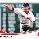 2013 Topps Update US326 Jake Peavy