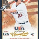 2013 USA Baseball Champions 100 Bubba Starling