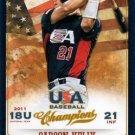 2013 USA Baseball Champions 91 Carson Kelly