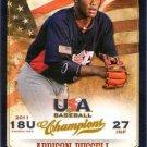 2013 USA Baseball Champions 117 Addison Russell
