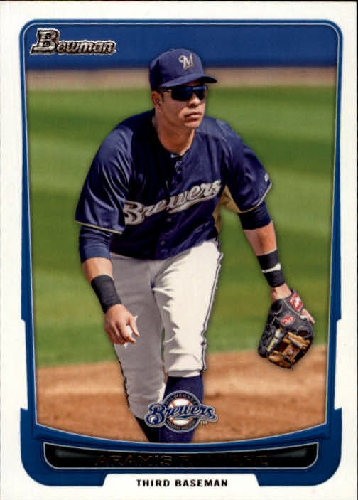 2012 Bowman 186 Aramis Ramirez