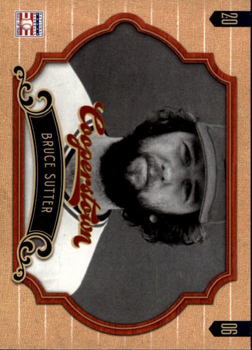 2012 Panini Cooperstown 54 Bruce Sutter