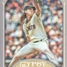 2012 Topps Gypsy Queen 240A Tim Lincecum