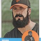 2012 Topps Heritage 325A Brian Wilson