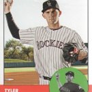 2012 Topps Heritage 33 Tyler Chatwood
