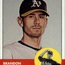 2012 Topps Heritage 338 Brandon McCarthy
