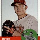 2012 Topps Heritage 376 Trevor Cahill
