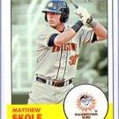 2012 Topps Heritage Minors 49 Matthew Skole
