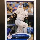 2012 Topps Update US120A Robinson Cano