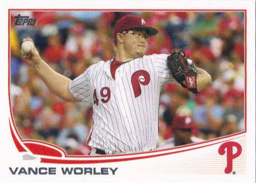 2013 Topps 249 Vance Worley