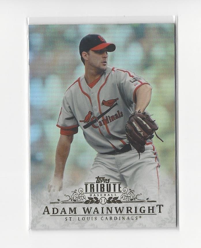 2013 Topps Tribute #73 Adam Wainwright