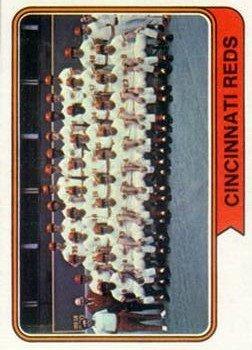 1974 Topps 459 Cincinnati Reds TC