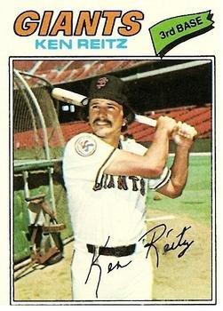 1977 Topps 297 Ken Reitz