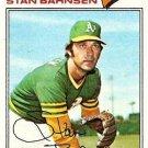 1977 Topps 383 Stan Bahnsen