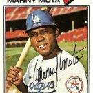 1977 Topps 386 Manny Mota