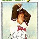 1977 Topps 401 Mickey Scott