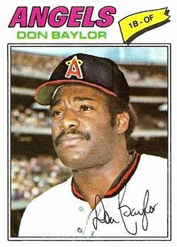 1977 Topps 462 Don Baylor