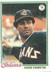 1978 Topps 148 Andre Thornton