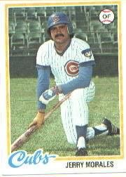 1978 Topps 175 Jerry Morales