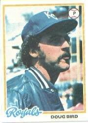 1978 Topps 183 Doug Bird