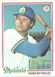 1978 Topps 199 Craig Reynolds