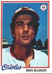 1978 Topps 315 Mark Belanger