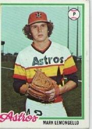 1978 Topps 358 Mark Lemongello