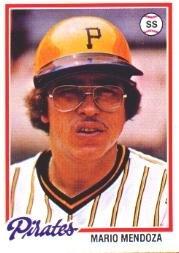 1978 Topps 383 Mario Mendoza