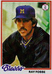 1978 Topps 415 Ray Fosse