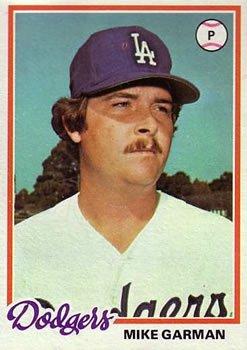 1978 Topps 417 Mike Garman DP