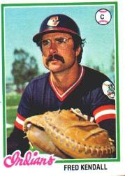 1978 Topps 426 Fred Kendall