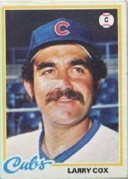 1978 Topps 541 Larry Cox