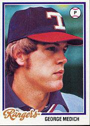 1978 Topps 583 George Medich