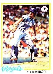 1978 Topps 696 Steve Mingori