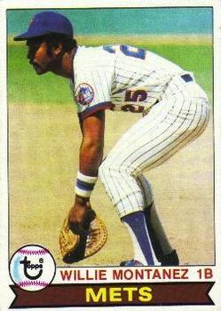 1979 Topps 305 Willie Montanez