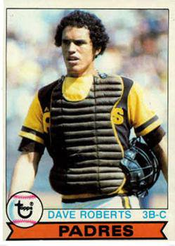 1979 Topps 342 Dave Roberts