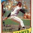 1980 Topps 111 Bob Knepper