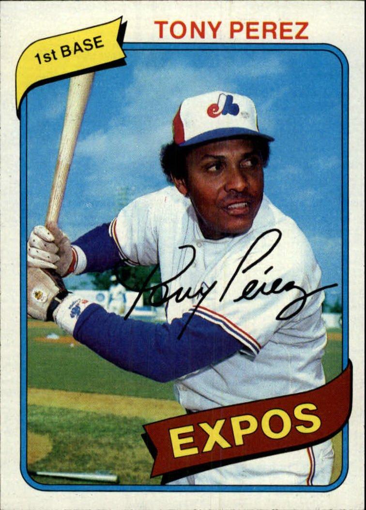1980 Topps 125 Tony Perez