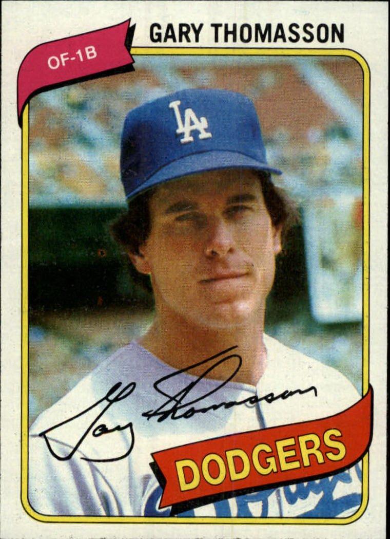 1980 Topps 127 Gary Thomasson