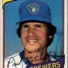 1980 Topps 131 Paul Mitchell