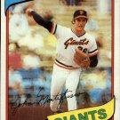 1980 Topps 195 John Montefusco