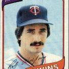 1980 Topps 238 Rob Wilfong