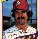 1980 Topps 296 Dave Rader