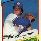 1980 Topps 307 Rick Honeycutt
