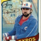 1980 Topps 345 Larry Parrish