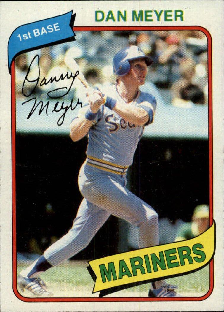 1980 Topps 396 Dan Meyer